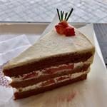 ツキ コーヒースタンド - ショコラショートケーキ