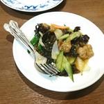 Tenfuen - 豚肉のオイスターソース炒め