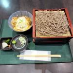 凪 - カツ丼・もり蕎麦2
