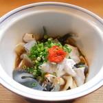 竹はる - トラフグ皮酢