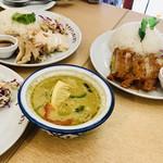 大阪カオマンガイカフェ - カオマンガイのこのライス❤︎       めっちゃ美味しい✨