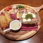 アンディカフェ - 選べる前菜3種盛り