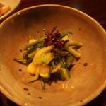 湯の岳庵 - (2019年02月)地野菜小鉢