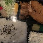 茂とん - ミックスフライ定食