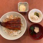うなぎ登喜川 - ランチうな丼 ¥850