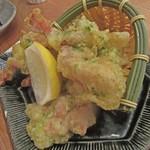 東京酒BAL 塩梅 - 鶏磯部揚げ