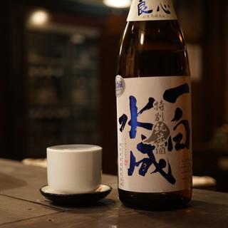 秋田県内の地酒全36蔵をご用意しています。