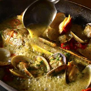 シェフ厳選の新鮮な国産食材で作る、絶品イタリアンの数々