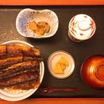 素材蔵 福吉 - 鰻丼 上