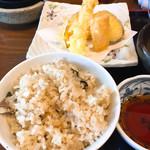 海の幸八 - 鯛めし 天ぷら