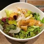 108554545 - 三崎鮮魚の特製サラダ+200円