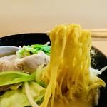 古潭 - 縮れ細麺