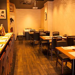 板橋駅東口を出てすぐ!ジャズのBGMが流れる和食居酒屋