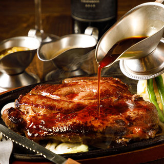 お肉好きにはたまらない♪ジューシーなお肉の旨みをご堪能あれ!