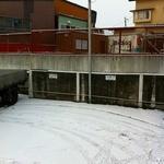 みなと食堂 - 駐車場2011.12