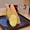 かっちゃん - 料理写真:【せんべろセット@税込1,000円】おまかせ天ぷら盛合わせ:6点
