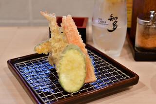 かっちゃん - 【せんべろセット@税込1,000円】おまかせ天ぷら盛合わせ:6点