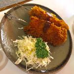 キッチン マロ - 串カツ800円