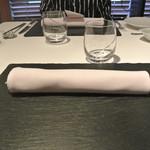 リストランテ カノフィーロ - 2019年5月26日のテーブルセット