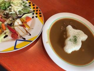 Garten Cafe ぶ楽り - いしい農園カレー