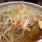 Enzou - 冷たい肉そば(鶏)