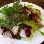 あさひ食堂 - 生パスタ @上板橋 ランチに付くミニサラダ