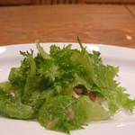 じん市 - 比内鶏のサラダ