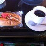 アポロ - 食後のコーヒーとパン(パンは毎回変わります。)