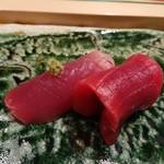 鮨西光 - 初鰹と本鮪赤身