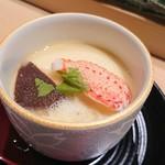 鮨西光 - 原木椎茸とズワイガニ爪身