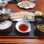 大船 - 穴子の天ぷら定食
