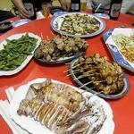 一丁目、炭火焼 - 料理写真:焼き鳥他宴会料理