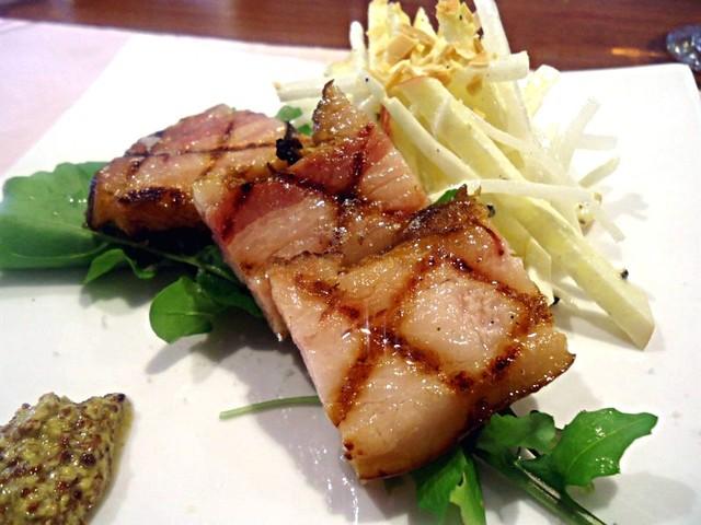 ムッシュ田中の料理とワインの店Vin Vin - 東京X豚のベーコン