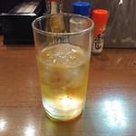 居酒屋 勝 - ウイスキー水割り水少な目
