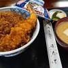 ほたて - 料理写真:上天丼(海老2尾と海鮮かき揚げ)