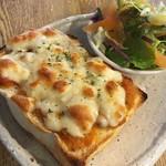 ディアマン Cafe and Diner - 焼きカレートースト
