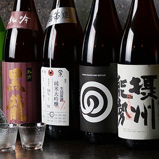 200種以上の品揃え!お料理のお供に最適な焼酎や日本酒も◎