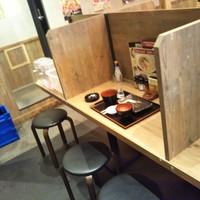 水炊き・焼鳥 とりいちず食堂-カウンター席(2019年5月21日撮影)