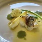 RISTORANTE INCROCI - 平戸産 真鯛のポアレ レモンバター風味