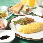 レストラン&バー ラコント - 朝食は5種類もあるんですよ。