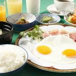 レストラン&バー ラコント - 洋食と和食いいとこ取り!欲張りなあなたにぴったりの朝食です!