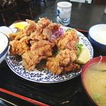 太田や食堂 - チキン唐揚定食