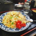 太田や食堂 - この日の日替わりだったチャーハン