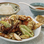 宝明楼 - 回鍋肉定食 ¥700