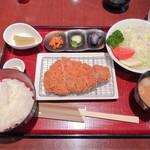 豚肉創作料理 やまと  - ◆特選ロースカツ膳 150g 1,780円