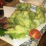てぃーだカンカン - 料理写真:アーサの天ぷら