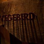 ベジバード - 入口の「VEGEBIRD」