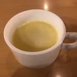 ジョイフル - 1杯目 コーンポタージュ