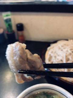 足立製麺所 - 鴨肉