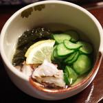 田中屋旅館 - タコの酢の物